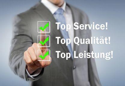 Leistung, Qualität & Service